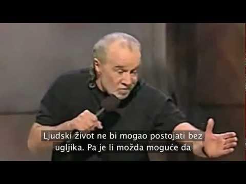 George Carlin - O pobačaju i svetosti života [hrvatski titlovi]