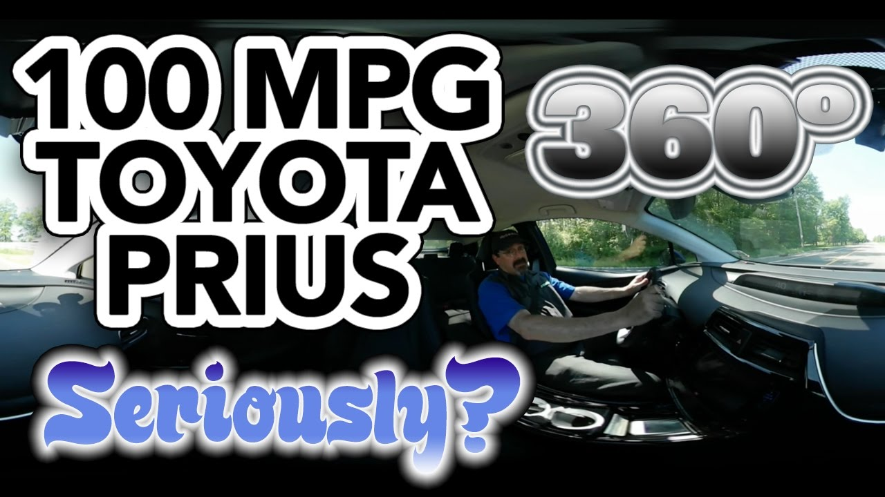 2017 Toyota Prius Hybrid Mpg Drive In 360º Vr 100 Seriously