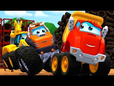 Чак и его друзья - Школа прыжков дяди Верти  Танцующие колёса