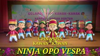 Ninja opo Vespa, parody Upin - Ipin ( NELLA KHARISMA )