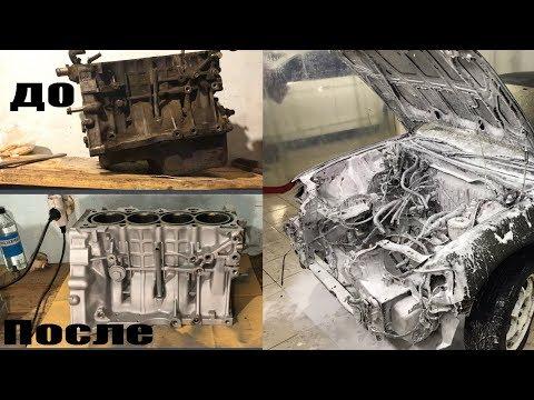 Фото к видео: Honda CRX - Капитальный ремонт D15B. Часть 1: разбор, дефектовка, мойка, расточка