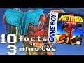 10 Metroid II Facts in 3 Minutes - The Fact Pit