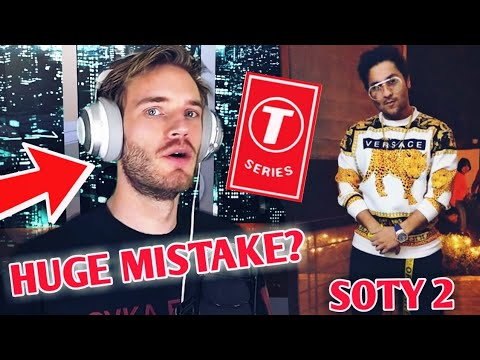PewDiePie Made A HUGE MISTAKE? Gone Too Far? | His Response, T-Series | Harsh Beniwal SOTY 2, PUBG |