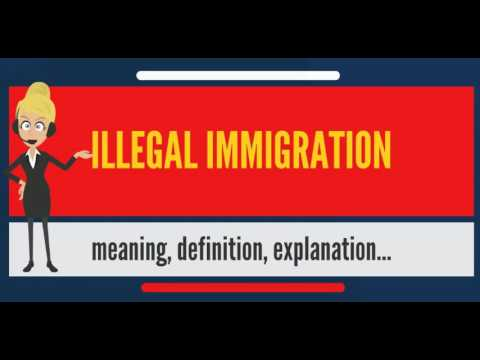 What is ILLEGAL IMMIGRATION? What does ILLEGAL IMMIGRATION mean? ILLEGAL IMMIGRATION meaning