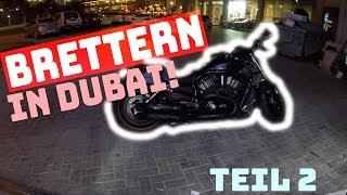 Mit nem dicken CHOPPER durch DUBAI BRETTERN! (2) | MotoVlog