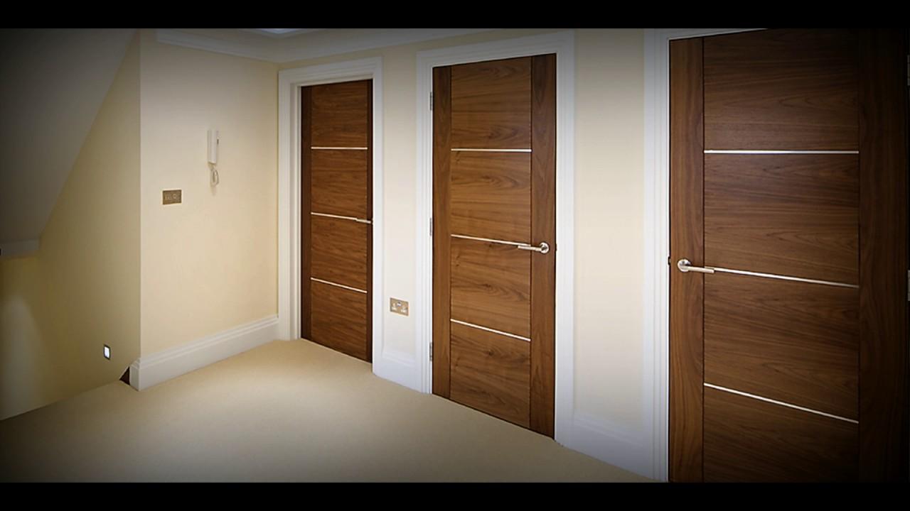 Porte In Legno Moderne : Porte in legno moderne laverderosa youtube