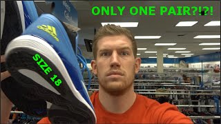 CAN A 7 FOOT GUY BUY SHOES?!