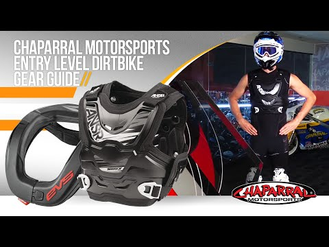Chaparral Motorsports Entry Level Dirtbike Gear Guide - 2016