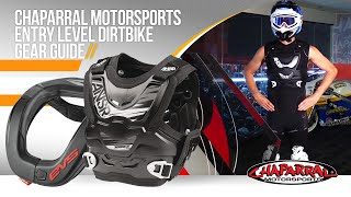 Chaparral Motorsports Entry Level Dirtbike Gear Guide