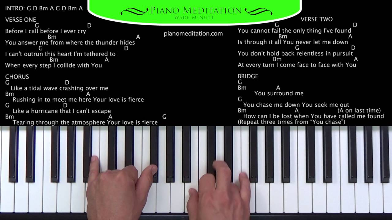 Fierce jesus culture how to play on the piano youtube fierce jesus culture how to play on the piano hexwebz Choice Image
