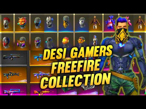 AmitBhai Ka Game Collection || Desi Gamers Best Collection in Free Fire - Desi Gamers