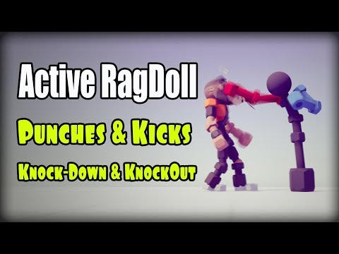 Active ragdoll in Unity  Punches, Kicks, Knock-Down