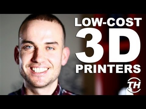 Low-Cost 3D Printers - Joseph Morris Discusses a Future with Personal Fabrication Technology
