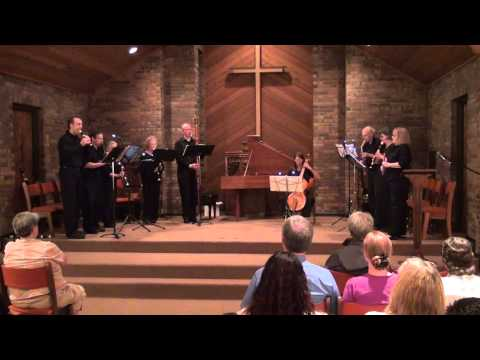 Cincinnati Recorder Consort 2014: The Five B's (Brade, Byrd, Bach, Bennet, Buxtehude, & friends)