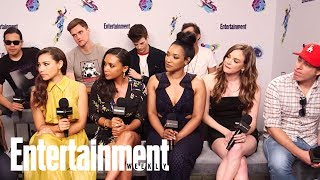 The Flash: The Cast On Their Favorite Episodes, Directing & More | SDCC 2018 | Entertainment Weekly