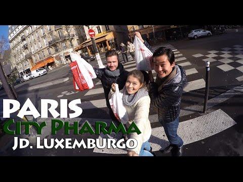 Vlog Paris |  Dia 3 - City Pharma - Jardim de Luxemburgo - Panthéon - Monoprix