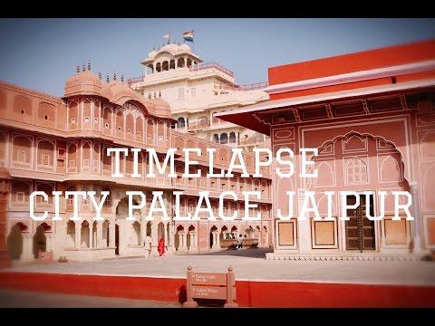 Timelapse - city palace jaipur