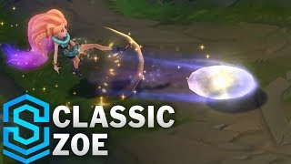 Classic Zoe, the Aspect of Twilight - Ability Preview - League of Legends