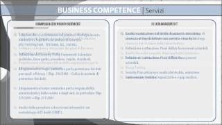 Security Management e Governance Business Competence