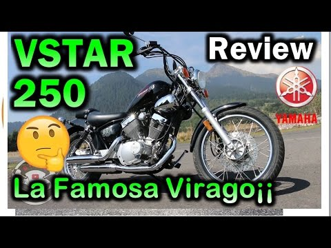 Yamaha V-Star 250cc  Review en Español : Blitz Rider