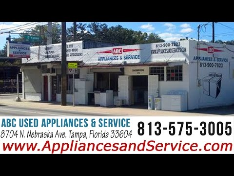 Used Appliances For Sale Tampa FL-813-575-3005 Tampa Used Appliances and Repair Service
