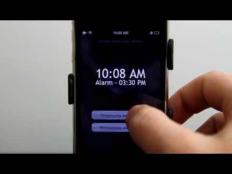 Proactive Sleep iPhone App Demo