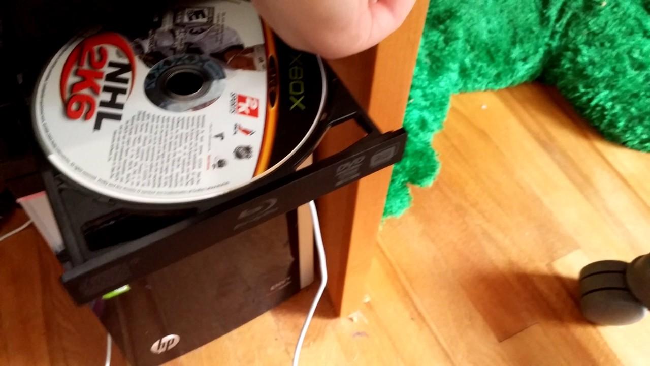 Wii U Dvd Players : Putting a original xbox disc in wii u dvd player and