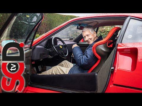 Driving a Ferrari F40 at 80 Years Old | Supercar Driver | #BeLikeJohn