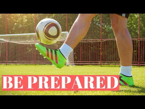 How To Prepare For A Big Soccer Game