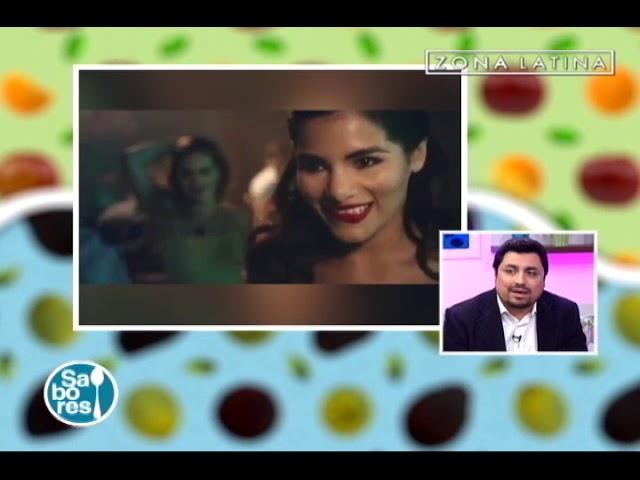 Ismael Pereira en Sabores de Zona Latina Julio 2018