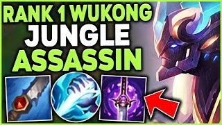 Download THIS FULL ASSASSIN WUKONG JUNGLE STRATEGY IS HIDDEN OP! #1 WUKONG JUNGLE - League of Legends Mp3 and Videos