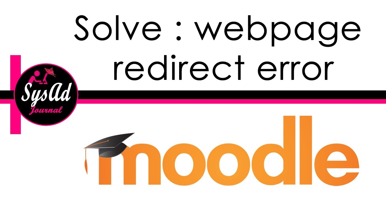 Moodle in English: ERR_TOO_MANY_REDIRECTS