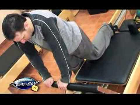 Ejercicios de pilates reformer para piernas y gluteos