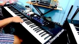Đàn Organ Roland Bk9 Miền Trung Ơi Nguyễn Kiên