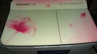 unpacking reliance reconnect washing machine