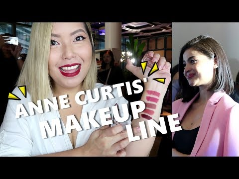 ANNE CURTIS' MAKEUP LINE! (Sept. 21, 2017) - saytioco