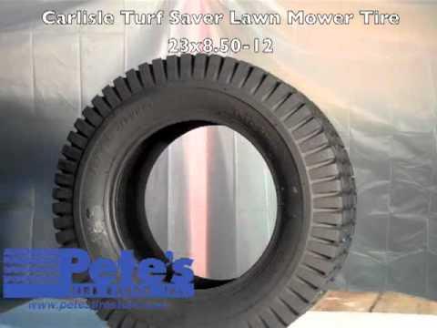 Carlisle Turf Saver Lawn Mower Tire Youtube