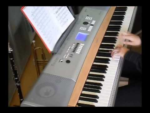 Summertime (jazz arrangement for piano solo)