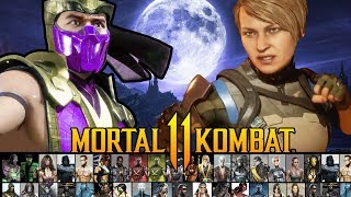 Mortal Kombat 11 - Half the Roster Already Confirmed?? Reveals + Leaks!