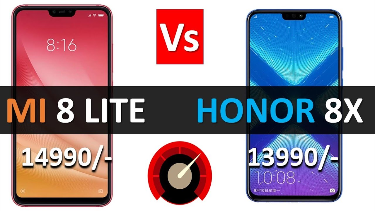 Xiaomi Mi 8 Lite Vs Honor 8X Full Details Specification base Overall  Comparison Not a Review