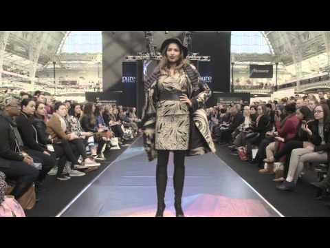 Turkish brands catwalk - Pure London AW16