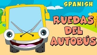 Las Ruedas del Autobús - Canciones Infantiles (Wheels on the Bus)