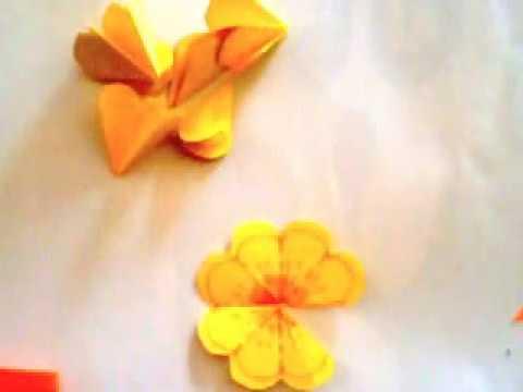 Cách làm bông hoa nở bung trong tấm thiệp