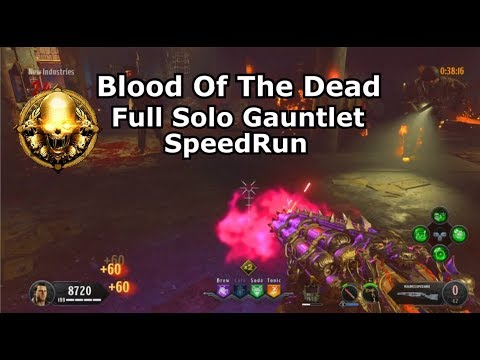 Blood Of The Dead Full Solo Gauntlet Gold PS4 (hellcatraz)