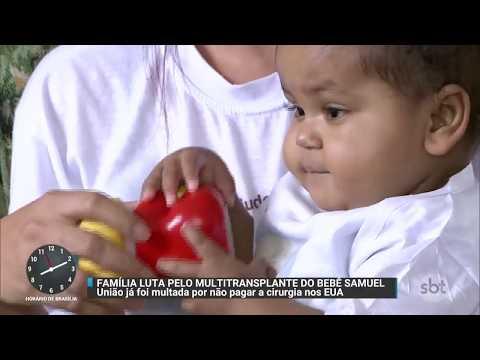 Família luta por transplante que pode salvar a vida de bebê de um ano | Primeiro Impacto (20/11/17)