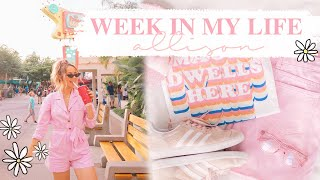 WEEK IN MY LIFE | Disney day + trying to be a girl boss! ✨