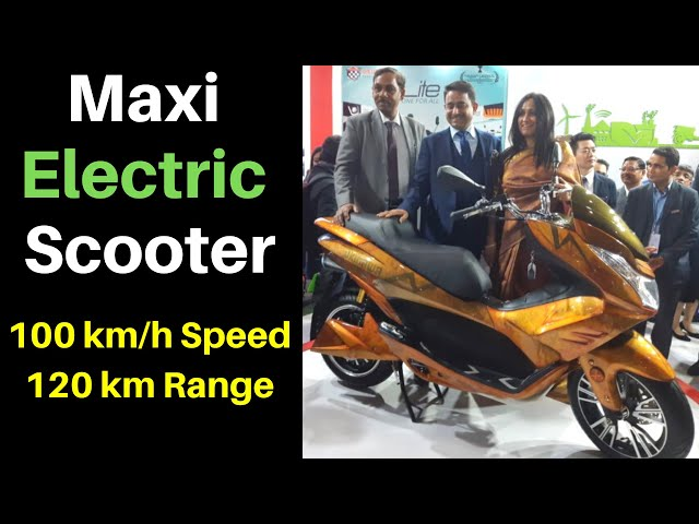 Okinawa Cruiser Electric Scooter Unveil at Auto Expo 2020 India