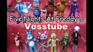 five nights at freddy s toy review fnaf chica golden freddy foxy bonnie balloon boy marionete
