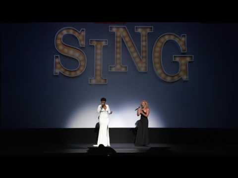 Tori Kelly & Jennifer Hudson Sing Hallelujah at TIFF 2016 Sing World Premiere