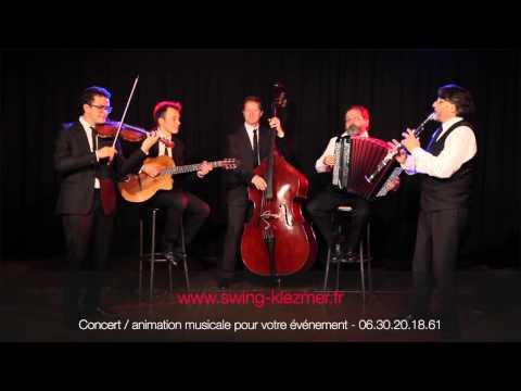 Groupe klezmer Mariage juif - Bei mir Bist Du Schön - www.swing-klezmer.fr